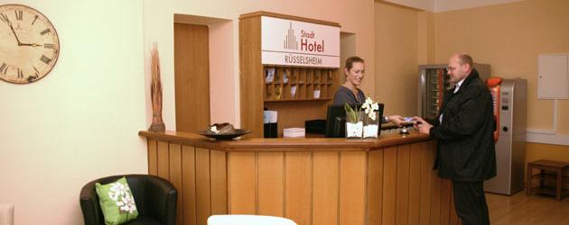 HOTEL Stadthotel Rüsselsheim Empfang